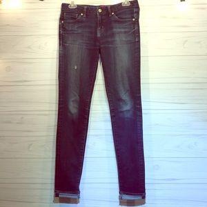 """Uniqlo Blue Jeans 26x 33"""""""